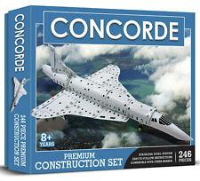 Demand 0018 Concorde Drilled Metal Construction Set (Meccano Style)