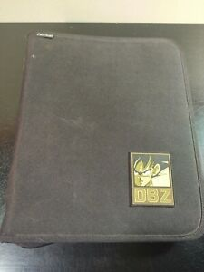Vintage DBZ Dragonball Z Pen-Tab Binder with Zipper 2000