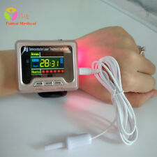 650nm Wrist Diode Laser Therapy Watch for Diabetes High Blood Pressure Home Use