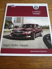 SKODA SUPERB SPECIFICATIONS & PRICE LIST BROCHURE JAN. 2011