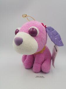 "Purple Ocha-ken Tea Dog B0306 San-x SEGA 2005 Plush 5"" Stuffed Toy Doll Japan"