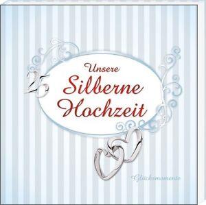 Unsere Silberne Hochzeit auch mit Name Fotoalbum Silberhochzeit