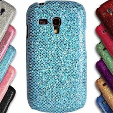 Chrome Bling Sparkle Glitter  Back Cover Case for Samsung Galaxy S3 Mini 8190