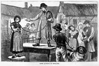 WIFE AUCTION IN ENGLAND, ANTIQUE HISTORY, AUCTIONEER