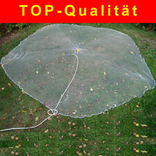 3m Wurfnetz / Angelnetz komplett mit 88 Blei Gewichten