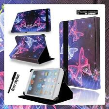 """For Various 7"""" inch Tablets Folio Stand Leather Universal Cover Case + STYLUS"""