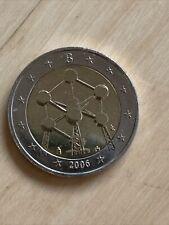 Belgien 2 Euro Gedenkmünze 2006 Atomium unzirkuliert aus der Rolle