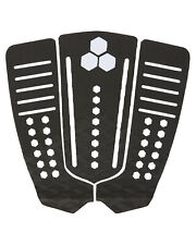 Channel Islands Surfboards 50-50 Flat Traction Pad 3 Piece 001-Black