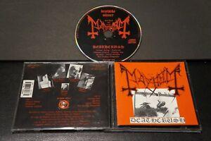 Mayhem Deathcrush CD Deathlike Silence records anti-mosh 003