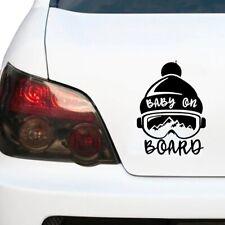 Baby on Board Aufkleber Skibrille JDM Decal Auto Sticker 10 x 13cm Sticker Snow