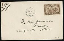 FFC SEVEN ISLANDS PQ TO QUEBEC DEC 1928 (AAMC 512b) A RARE COVER! (K753)