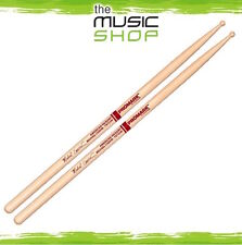 New 3x Pairs of Promark Hickory 733 Michael Carvin Drumsticks with Wood Tips