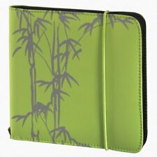 24 Space CD DVD BluRay Disc Carry Case Holder Bag Wallet Protector Storage Green