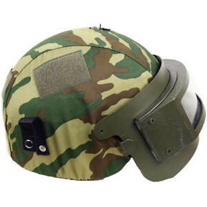 K6-3/Altyn Russian Army Airsoft Spetsnaz Helmet Cover Flora Camo