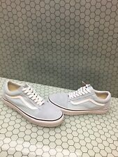 VANS Old Skool Baby Blue Canvas/Suede Lace Up Skate Shoes Men Size 7.5  Womens 9
