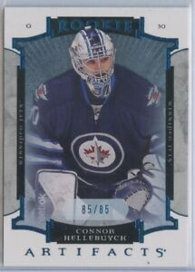 2015-16 Artifacts Sapphire #177 Connor Hellebuyck ROOKIE /85