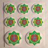 Pegatinas Turkmenistan Escudo de Armas Vinilo 3D Relieve Pegatina Turkmenistan