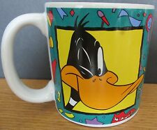 Daffy Duck Many Faces Of Daffy 1993 Ceramic Cup Warner Bros