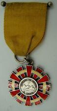 REPUBLICA DEL ECUADOR National Order of Merit, Silver & Enamel Grand Cross, 1929