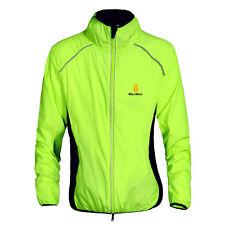Men Waterproof Jersey Cycling Breathable Windbreaker Jacket Sports Coat 5 Colors Green L