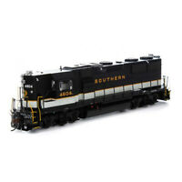 Athearrn ATHG64641 Southern Railway GP39X w/DCC & Sound SOU #4604 Locomotive HO