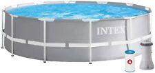Piscina Fuori Terra Intex 26716 Metal Frame Prisma 366 X 99 con pompa e filtro