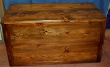 *NEW* Handmade Custom Large Wood Storage or Toy Box Hope Chest - Choose finish!