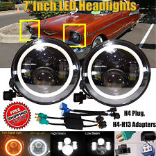 2xLED Headlamp Headlights H4-H13 Upgrade Set For Ford Plymouth Classic Car Truck