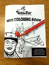 2020 Healing with Horses Ranch Coloring Book