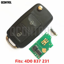 Remote Key fob for  AUDI A2 A3/B5 A4 A6 Quattro RS 4D0 837 231  434MHZ HU66