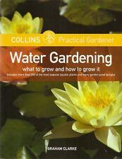 WATER GARDENING Water Garden KOI Goldfish Fish Ponds Collins Practical Gardener