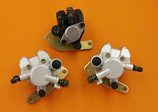 BRAKE CALIPER SET FOR YAMAHA WARRIOR 350 YFM 350X 1989-2004 FRONT&REAR WITH PADS