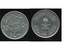 ARABIE SAOUDITE 50 halala 1979-1400