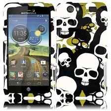 For Motorola Atrix 3 MB886 Atrix HD Design - Camouflage Falling Skull