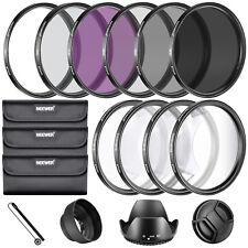 Neewer Kit de accesorio de filtros 67MM lente completa para lentes