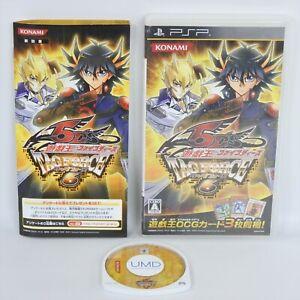 PSP YU GI OH 5D's Tag Force 6 UMD Playstation Portable 0129