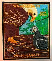OA WA-HI-NASA LODGE 111 MIDDLE TENNESSEE COUNCIL TN FLAP 2018 NOAC 2-PATCH EAGLE