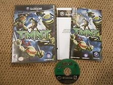 TMNT Nintendo GameCube Video Game Complete