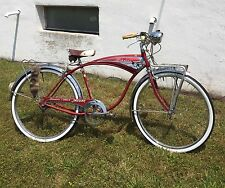Schwinn Mark Iv Jaguar Vintage Bicycle Tank 3 Speed Original