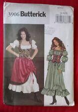 Butterick Sewing Pattern 3906 Historic Costume Dress & Vest / Corset Sz 18 20 22