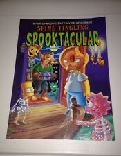 Groening 2001 Bart Simpson's Treehouse Of Horror SPINE-TINGLING SPOOKTACULAR TPB