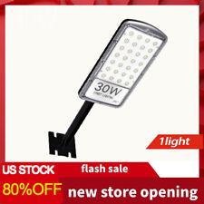 1X4000LM LED Solar Street Light Outdoor Commercial Dusk to Dawn Street Light US