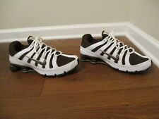 Classic 2006 Used Worn Size 12 Nike Shox Turbo OH Shoes White Brown 313827-221