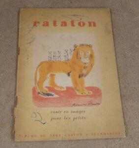 RATATON - CLAUDE SIMON  - EDITIONS FLAMMARION PERE CASTOR 1949