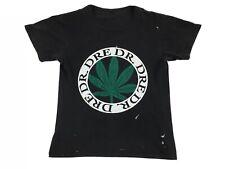 Vintage Dr. Dre shirt The Chronic 90s Bootleg Rap Tee Hip Hop Black Crew Neck M