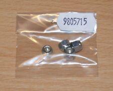 Tamiya 9805715/19805715 4mm Lock/Wheel Nut (4 Pcs.) (Grasshopper/Hornet), NIP