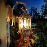 Traditional Style Outdoor Garden Wall Light Lantern Lighting Vintage Lamp Holder