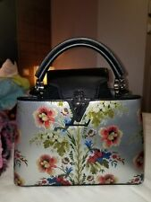 Louis Vuitton Capucines BB floral purse bag - limited edition one of the kind