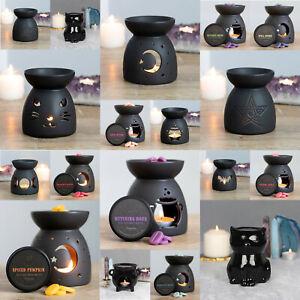Oil Burner Wax Warmer Gothic Pagan Black Magic Designs Scent Oil Wax Melts