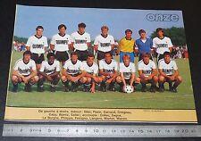 CLIPPING POSTER FOOTBALL 1985-1986 D2 STADE QUIMPEROIS QUIMPER PENVILLERS BREIZH